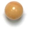 Semi-Precious 10mm Round Yellow Jade